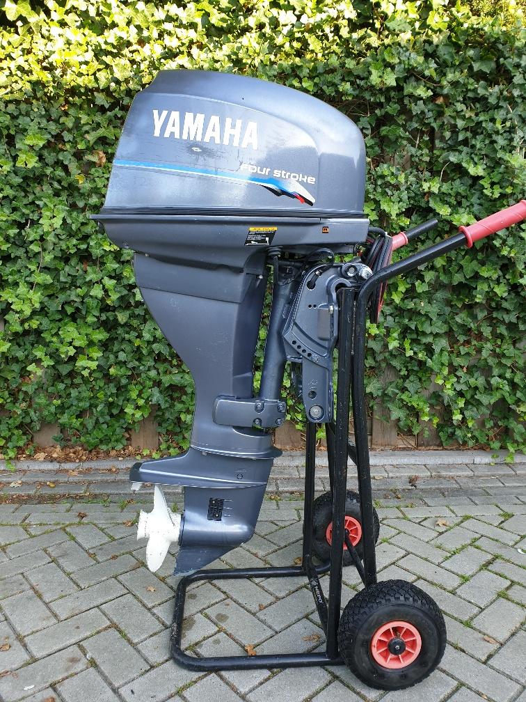 Yamaha 25pk 4takt, powertrim