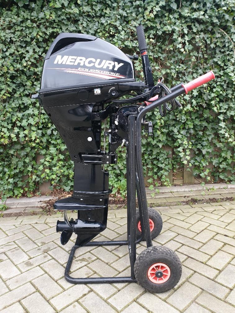 Mercury 15pk 4takt, langstaaArt, knuppelbediening, elektrische start