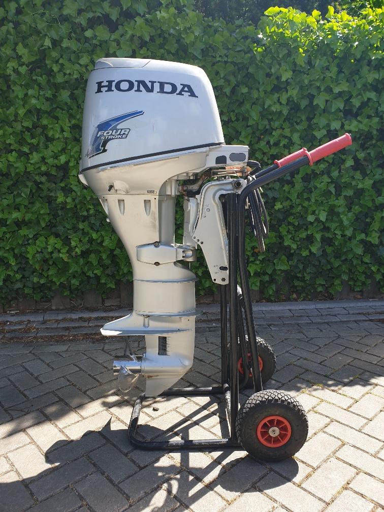 Honda 30pk 4takt, langstaart, elektrische start, powertilt, afstandsbediening