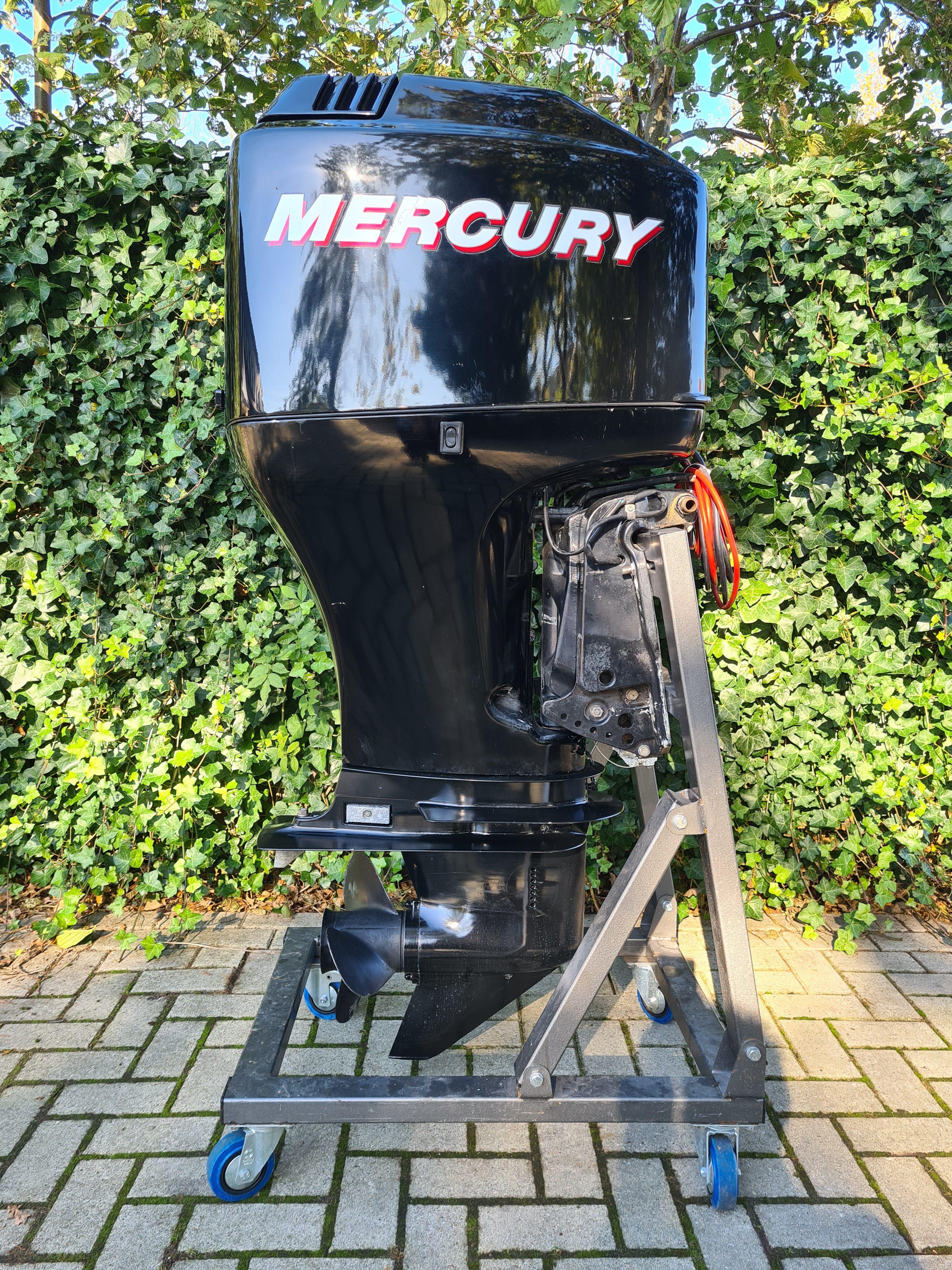Mercury 90pk 4takt, langstaart, afstandsbediening, powertrim